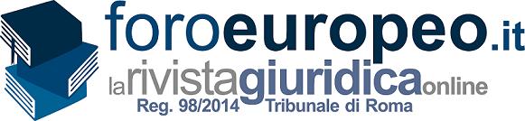 009.(Competenza del tribunale) - Foroeuropeo aa_La_Rivista_Giuridica